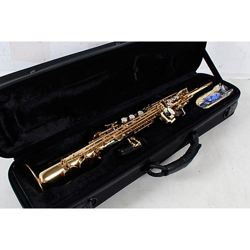 Allora ASPS-250 Student Series Soprano Sax Condition 3 - Scratch and Dent Lacquer 190839932891