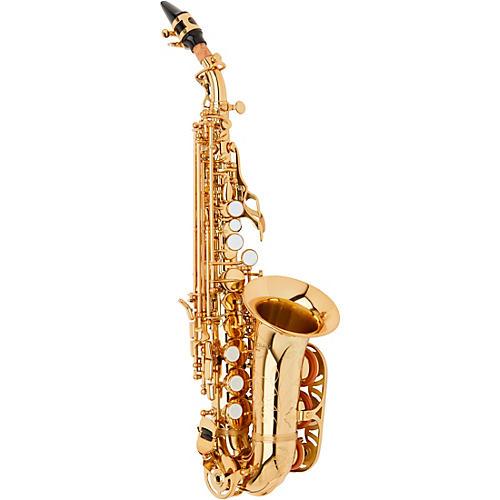 Allora ASPS-550 Paris Series Curved Soprano Sax Lacquer Lacquer Keys