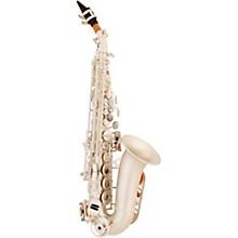 ASPS-550 Paris Series Curved Soprano Sax Silver Matte Silver Matte Keys