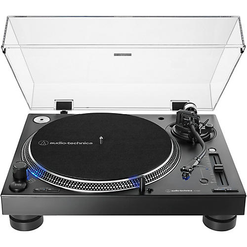 Audio-Technica AT-LP140XP Direct-Drive Professional DJ Turntable Condition 2 - Blemished Black 194744150937