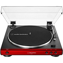 AT-LP60X Fully Automatic Belt-Drive Stereo Turntable Red