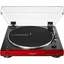 AT-LP60XBT Fully Automatic Belt-Drive Stereo Turntable with Bluetooth Red