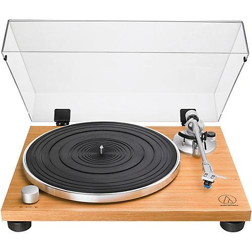 Audio-Technica AT-LPW30TK Manual Belt-Drive Turntable Wood