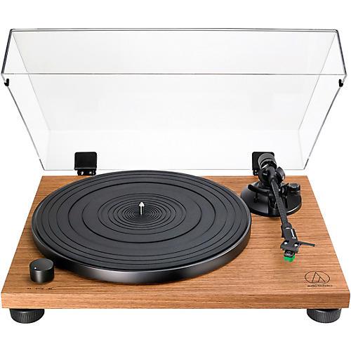 Audio-Technica AT-LPW40 Belt-Drive Walnut Turntable