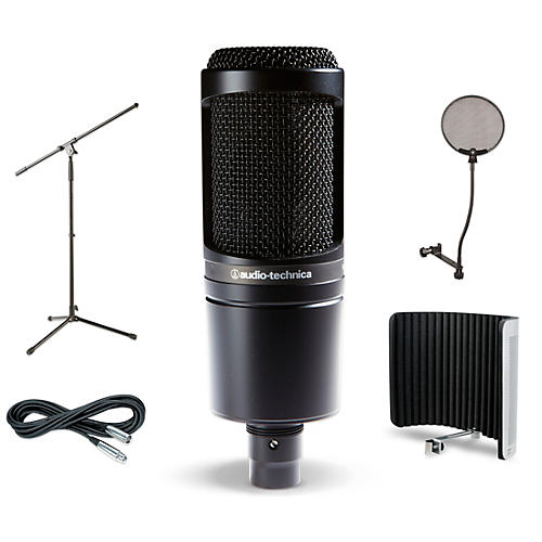 Audio-Technica AT2020 VMS Vocal Microphone Shield and Cable Kit