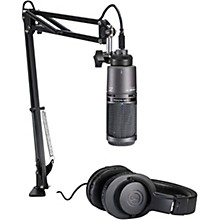 Audio-Technica AT2020USB+PK Podcasting Studio Bundle