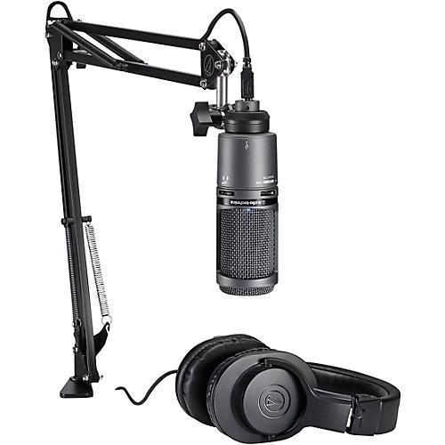Audio-Technica AT2020USB+PK Podcasting Studio Bundle