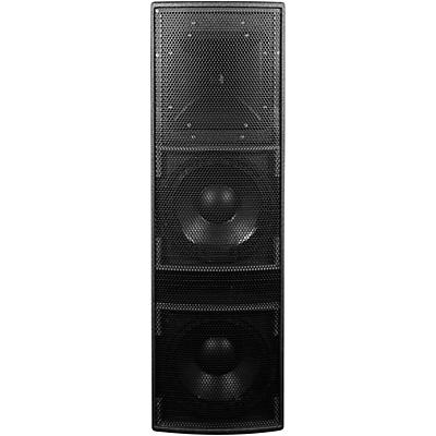 "BASSBOSS AT212-3K Dual 12"" 2-Way Powered Top Loudspeaker"
