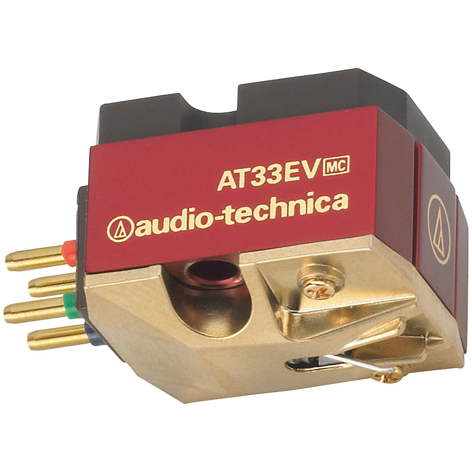 Audio-Technica AT33EV Dual Moving Coil Cartridge