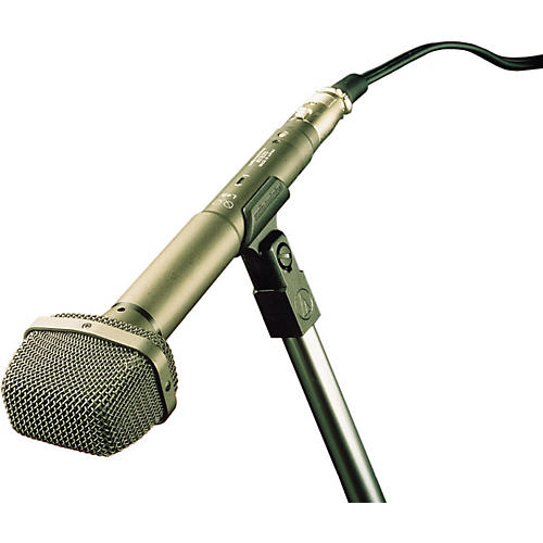 audio technica at825 onepoint x y stereo field recording microphone musician 39 s friend. Black Bedroom Furniture Sets. Home Design Ideas