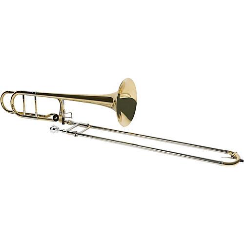 Allora ATB-450 Vienna Series Intermediate F-Attachment Trombone Lacquer Yellow Brass Bell