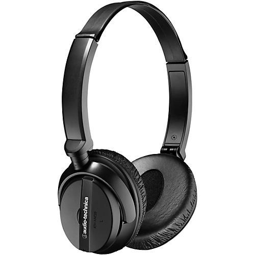 Audio-Technica ATH-ANC20 QuietPoint Active Noise-cancelling On-Ear Headphones