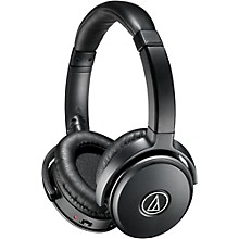 Open Box Audio-Technica ATH-ANC50iS Noise Cancelling Over Ear Headphones With Controls