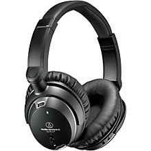 Open BoxAudio-Technica ATH-ANC9 Noise Cancelling Over Ear Headphones With Controls