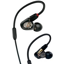 Open Box Audio-Technica ATH-E50 Professional In-Ear Monitor Headphones