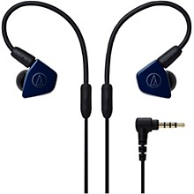 ATH-LS50IS In-Ear Headphones with In-line Mic & Control Navy