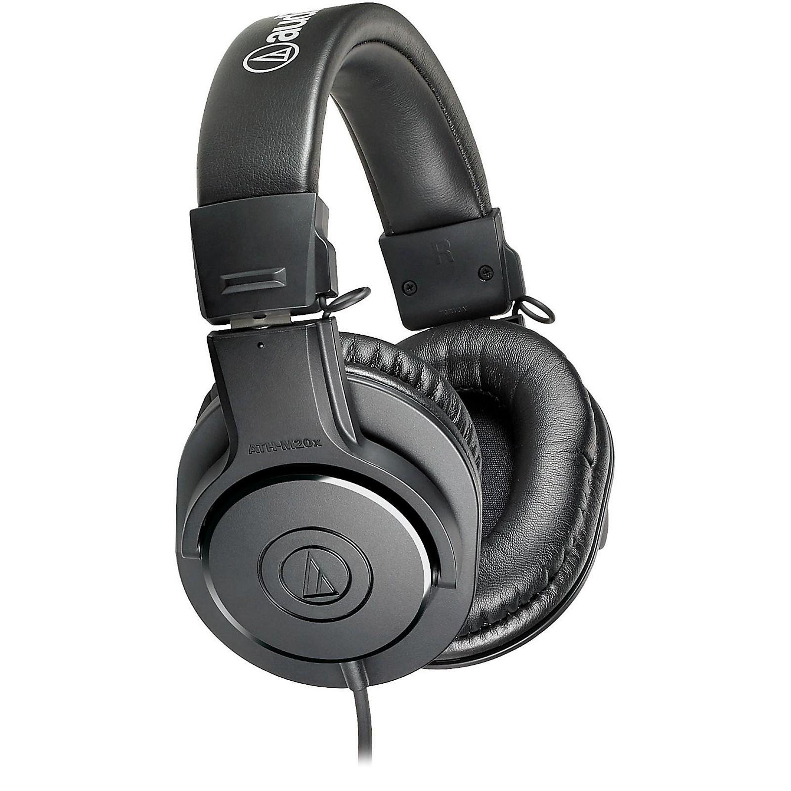 Audio-Technica ATH-M20x Closed-Back Professional Studio Monitor Headphones
