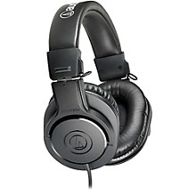 Audio-Technica ATH-M20x Closed-Back Professional Studio Monitor Headphones