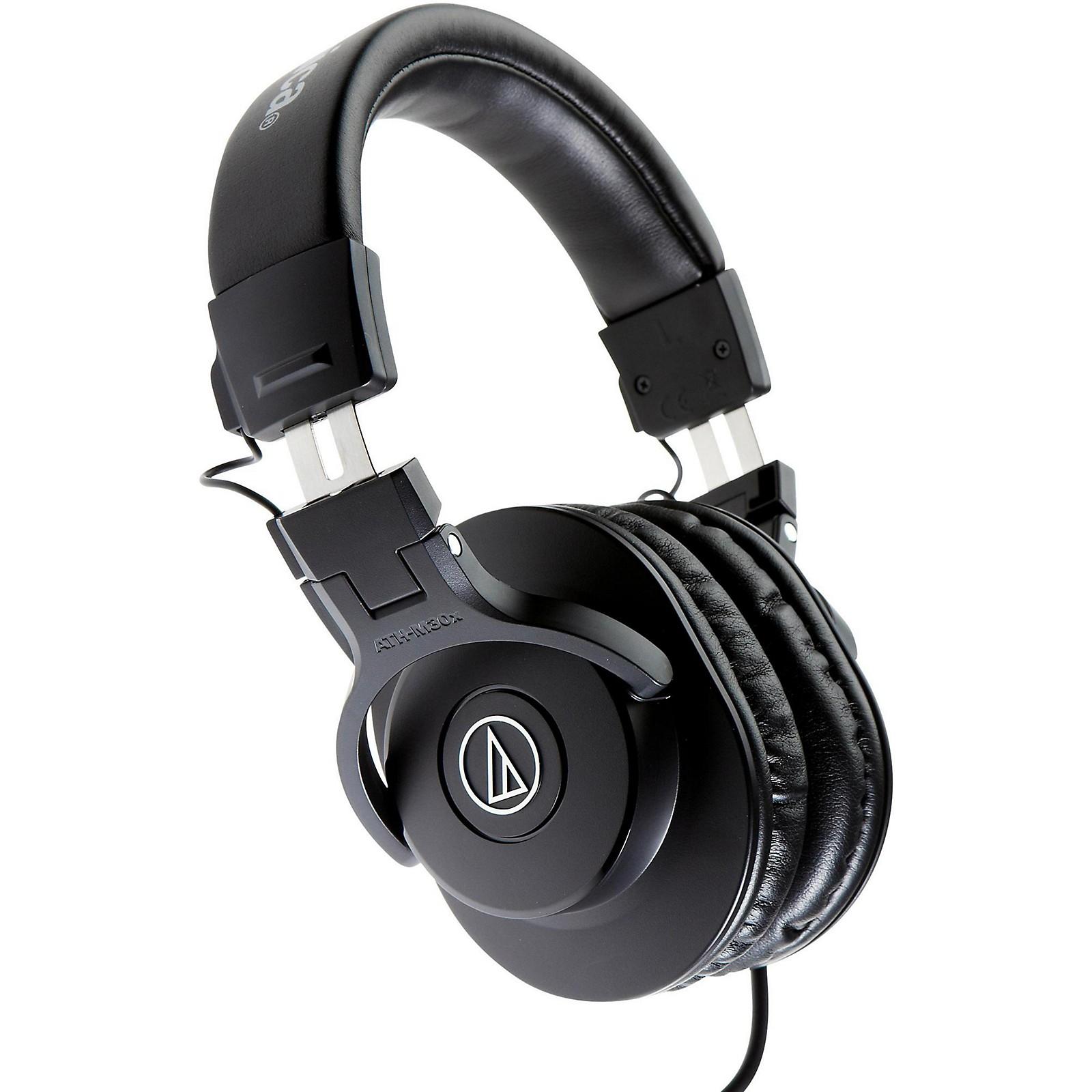 Audio-Technica ATH-M30x Closed-Back Professional Studio Monitor Headphones