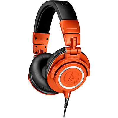Audio-Technica ATH-M50XMO Closed-Back Studio Monitoring Headphones Limited Edition Metallic Orange