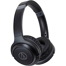 Audio-Technica ATH-S200BTBK On-Ear Bluetooth Headphones in Black