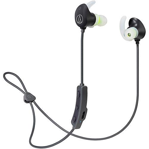 Audio-Technica ATH-SPORT60BT SonicSport Wireless In-ear Headphones Black