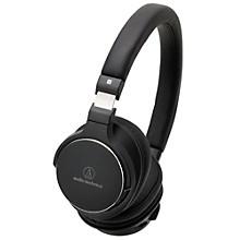 Open BoxAudio-Technica ATH-SR5BTBK Bluetooth On Ear Headphones Hi-Res With Controls
