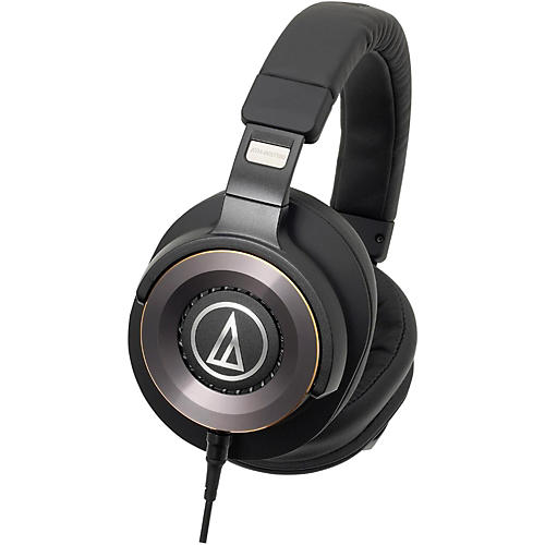 Audio-Technica ATH-WS1100iS Solid Bass Over-Ear Headphones with In-line Mic
