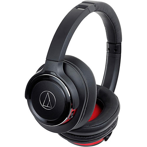 Audio-Technica ATH-WS660BT Solid Bass Wireless Over-Ear Headphones with Built-in Mic & Control