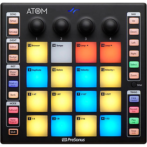 Presonus ATOM Production and Performance Pad Controller Condition 1 - Mint