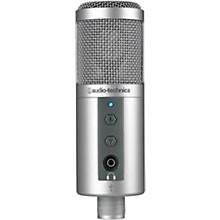 Audio-Technica ATR2500-USB Side-Address USB Microphone w/ Headphone Monitor