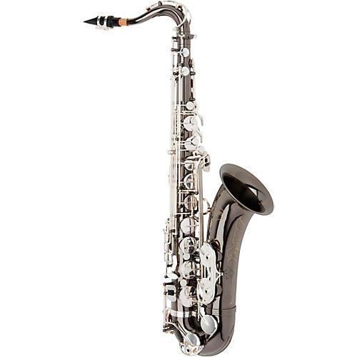 Allora ATS-450 Vienna Series Tenor Saxophone Black Nickel Body Silver Keys