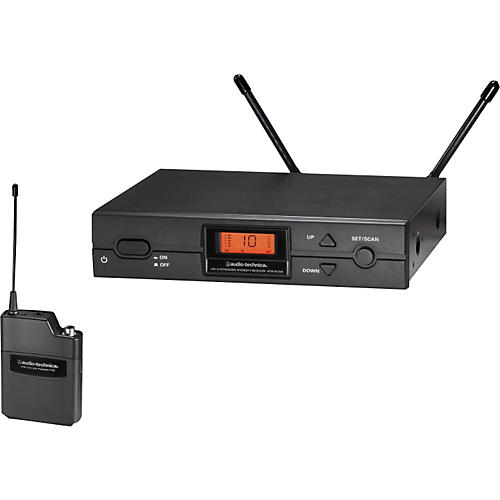 Audio-Technica ATW-2110 2000 Series UniPak Wireless System 656-678MHZ