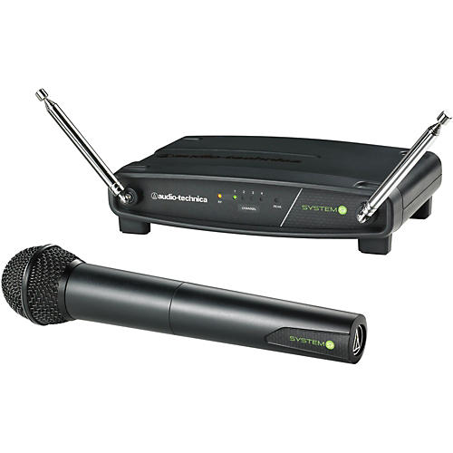 audio technica atw 902 system 9 vhf wireless handheld microphone musician 39 s friend. Black Bedroom Furniture Sets. Home Design Ideas