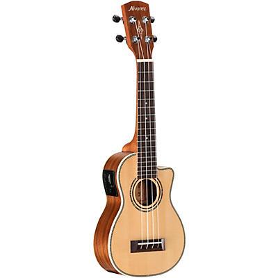 Alvarez AU70WSCE Artist Series Soprano Acoustic-Electric Ukulele