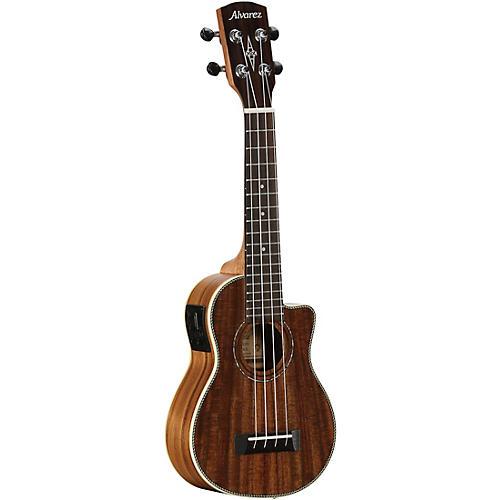 Alvarez AU90SCE Artist Series Soprano Acoustic-Electric Ukulele Satin Natural