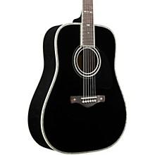 Ibanez AV5DBK Solid Top Dreadnought Acoustic Guitar