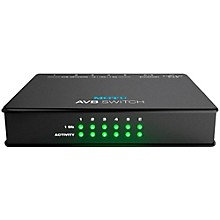 Open BoxMOTU AVB Switch Five-Port AVB Ethernet Switch