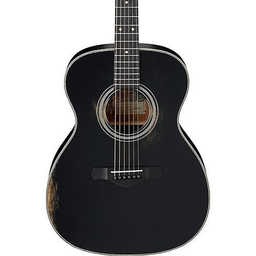 Ibanez AVC11ABK Artwood Vintage Grand Concert Acoustic Guitar Matte Black