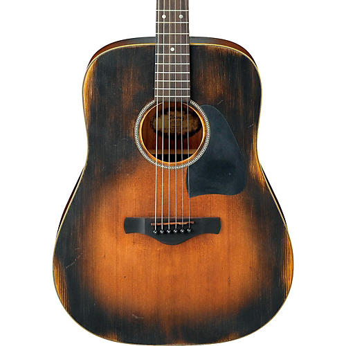 Ibanez AVD6 Artwood Vintage Distressed Dreadnought Acoustic Guitar