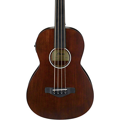 Ibanez AVNB1FE Artwood Vintage Parlor Fretless Solid Top Acoustic-Electric Bass
