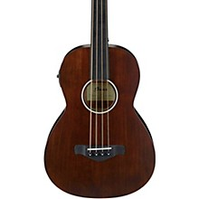 Open Box Ibanez AVNB1FE Artwood Vintage Parlor Solid-Top Acoustic-Electric Bass
