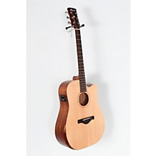 Open Box Ibanez AW150CE Artwood Unbound Dreadnought Acoustic-Electric Guitar