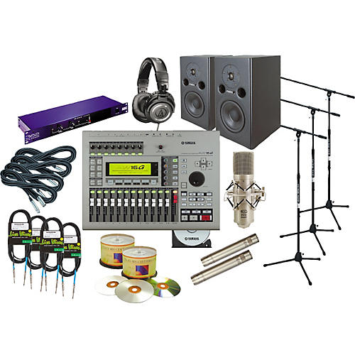 Yamaha AW16G All-In-One Recording Package