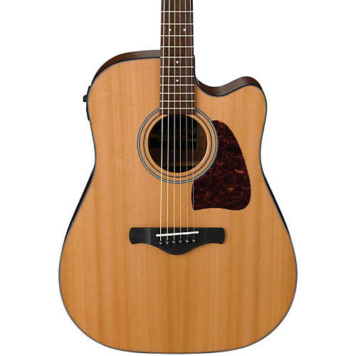 Ibanez AW450CENT Artwood Solid Top Dreadnought Acoustic-Electric Guitar
