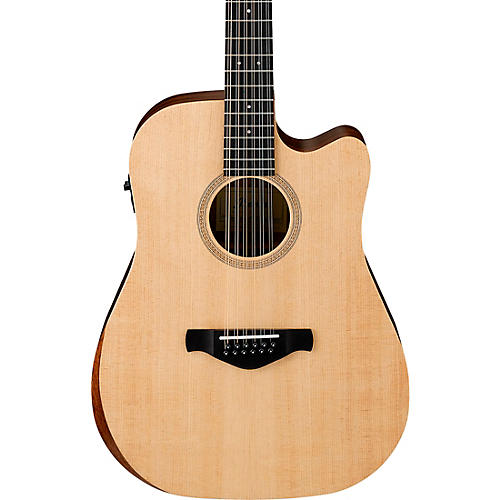 ibanez aw521ce artwood unbound 12 string dreadnought acoustic electric guitar satin natural. Black Bedroom Furniture Sets. Home Design Ideas