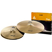 Open BoxStagg AX Series Copper-Steel Alloy Innovation Cymbal Set