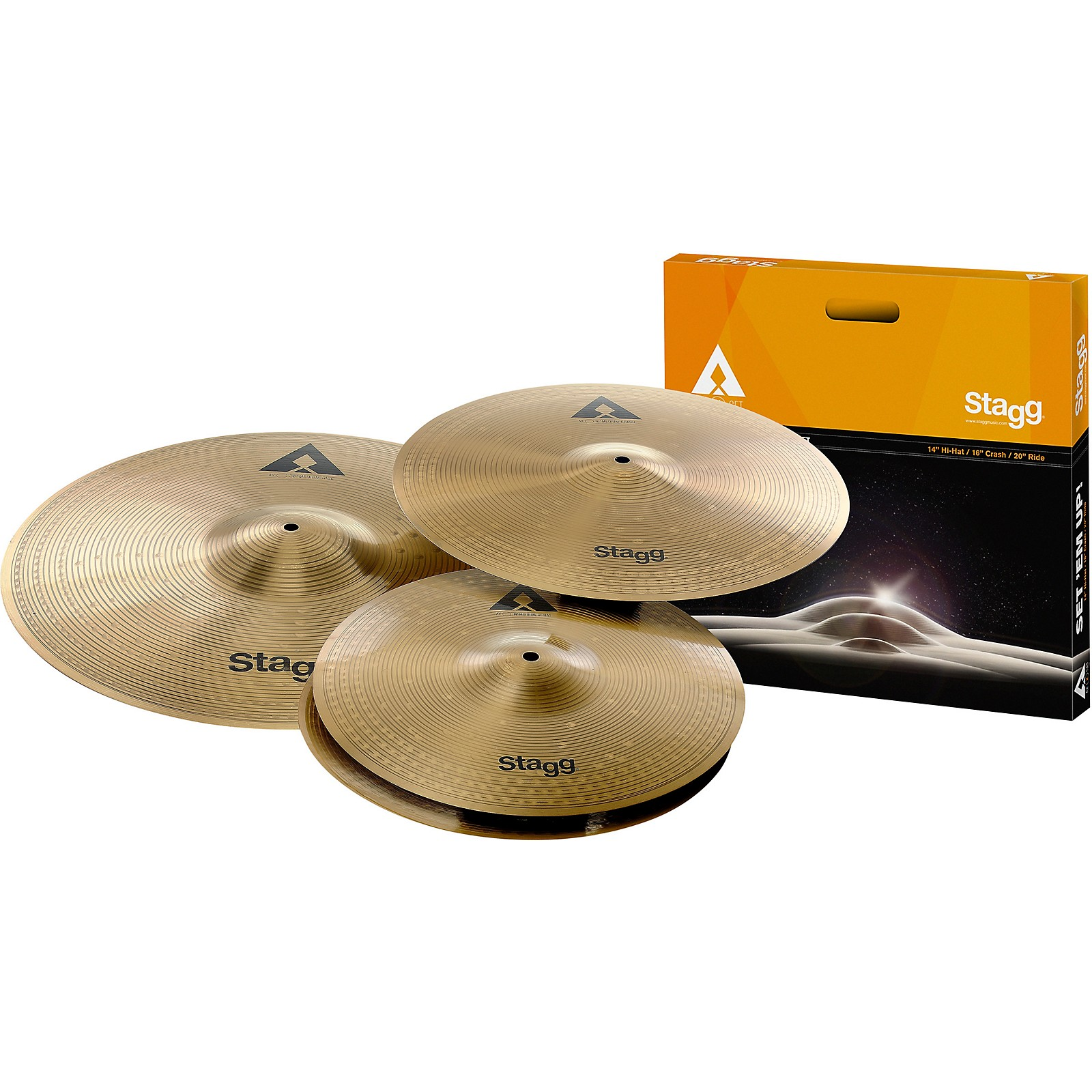 Stagg AX Series Deluxe Cymbal Set