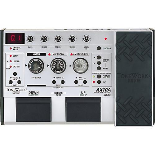 toneworks ax10a acoustic electric guitar modeling effect processor musician 39 s friend. Black Bedroom Furniture Sets. Home Design Ideas