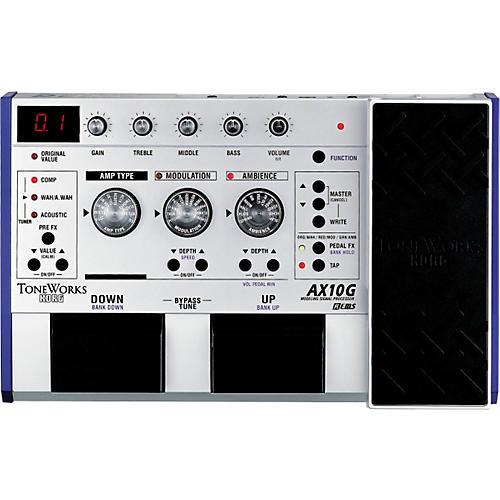 toneworks ax10g guitar modeling effect processor musician 39 s friend. Black Bedroom Furniture Sets. Home Design Ideas
